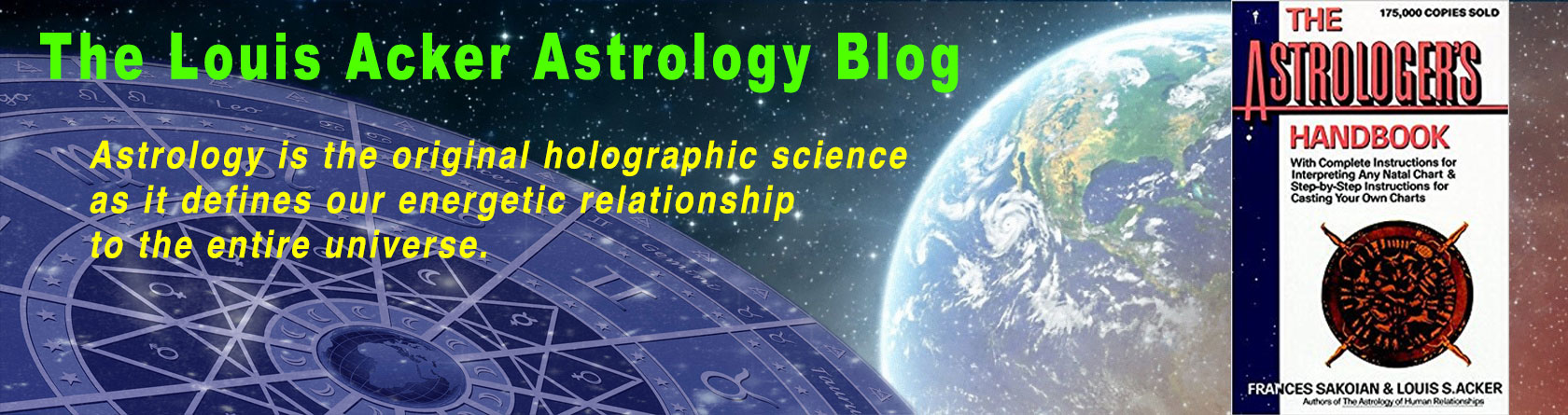 The Louis Acker Astrology Blog